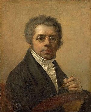 Alexey Venetsianov - Self-portrait, 1811
