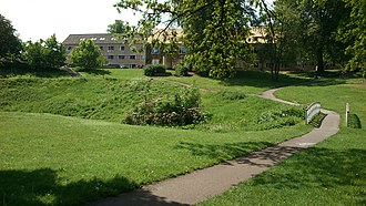 Aarhus University - Vennelystparken, the southern section of the University Park.