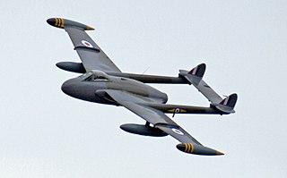 de Havilland Venom fighter aircraft family