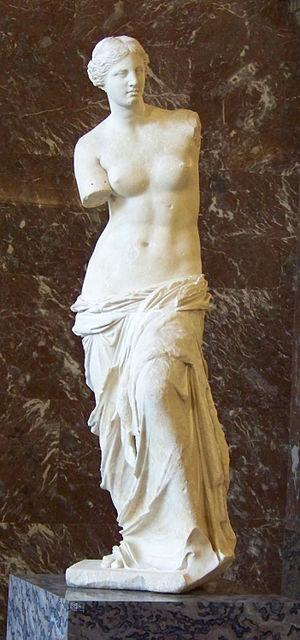 Hellenistic art - Image: Venus de Milo 1, Louvre May 2010