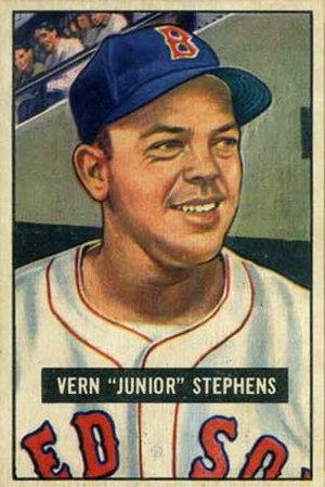 Vern Stephens - Image: Vern Stephens
