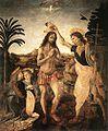 Verrocchio e leonardo, battesimo di cristo 01.jpg