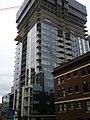 Via6 north tower construction.jpg