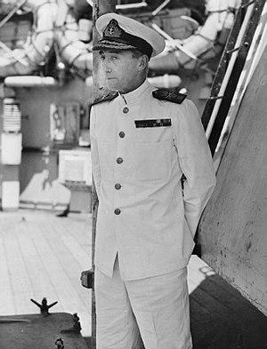 Bernard Rawlings (Royal Navy officer) - Vice Admiral Rawlings during World War