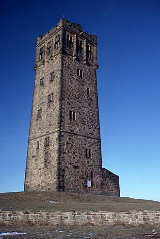 Huddersfield - Victoria Tower at 'Castle Hill'