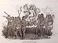 Vida y viajes de Cristobal Colón, 1851 Honores tributados a la Reina (3819533241).jpg