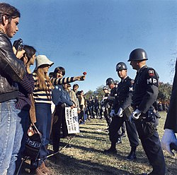 Anti-Vietnam war demonstration.