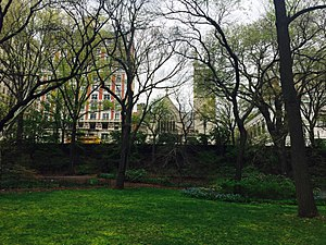 Fourth Universalist Society in the City of New York - View From Central Park