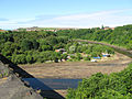 View of River Esk from Larpool Viaduct, Whitby, North Yorkshire (23268932420).jpg