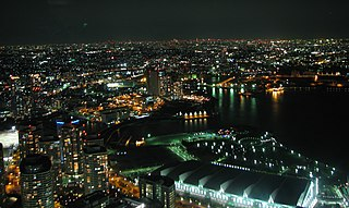 View of Yokohama from Landmark tower at night.jpg