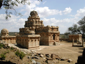 Muthuraja - Vijayala choleeswaram built by llango Mutharaiyar 825AD