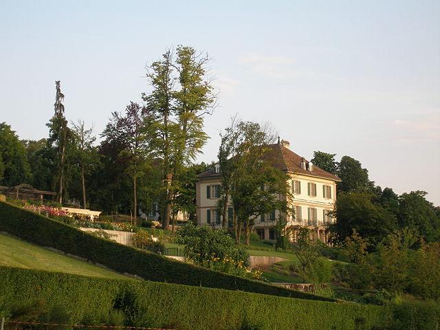Вилла Диодати, где в 1816г. жили Байрон, Шелли, его жена Мэри и Дж. Полидори