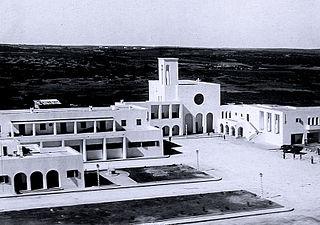 Qirnada Town in Cyrenaica, Libya