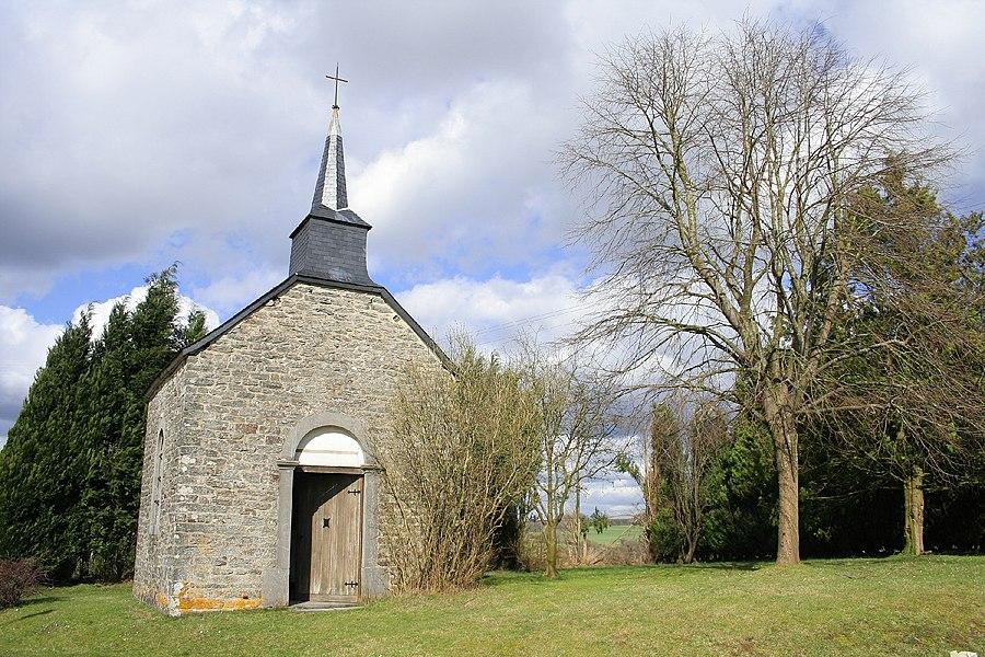 Villance (Belgium), rue de Maissin - chapel.