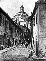 Vilnia, Šklanaja. Вільня, Шкляная (A. Glatz, 1918).jpg