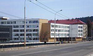 Vilnius College of Technologies and Design - Image: Vilniaus technologijų ir dizaino kolegija, Antakalnis
