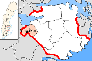 Vingåker Municipality in Södermanland County.png