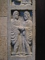 Visitation, Portal, Workshop of Master Biduino, Italy, 1170-1180 1 16 09 -metcloisters -sculpture (3215355900).jpg