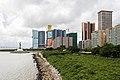 Vista de los casinos desde el Centro de Ciencia, Macao, 2013-08-08, DD 04.jpg