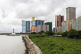 Geography of Macau - View of the casinos