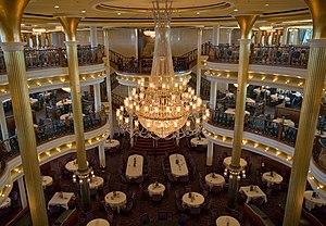 MS Adventure of the Seas - Image: Vivaldi Dining Room 1