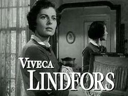 Viveca Lindfors in No Sad Songs for Me trailer.JPG