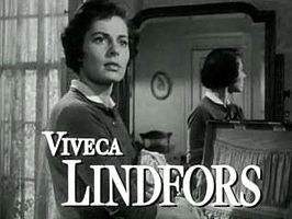 Viveca Lindfors in No Sad Songs for Me (1950)