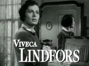 Schauspieler Viveca Lindfors