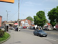 Vladikavkaz. Near railway station.JPG