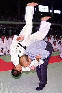 Ippon seoi nage Judo technique