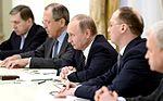 Vladimir Putin with Wang Yi (2016-03-11) 06.jpg
