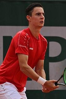 Joran Vliegen Belgian tennis player