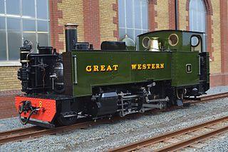 GWR Rheidol Tank class of 3 British 2-6-2T locomotives