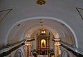 Voltes de l'església de santa Anna de Campell des del cor.JPG