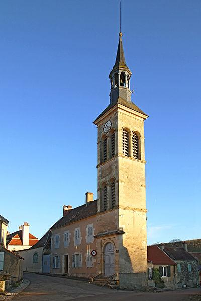 Beffroi ou tour de l'horloge de Voutenay-sur-Cure
