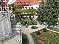 Vrtbovská zahrada, celkový pohled na druhý parter.JPG