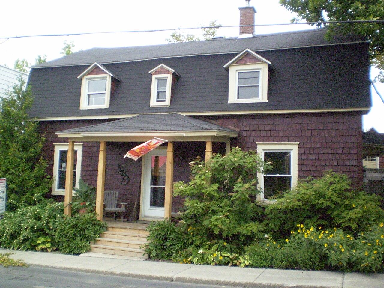 File vue droite de la maison natale de paul mile borduas jpg wikipedia th - Google vue des maisons ...