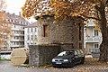 Würzburg, Zwinger, Turmreste der Stadtmauer-002.jpg