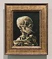 WLANL - Pachango - Kop van een skelet met brandende sigaret, Vincent van Gogh (1885-1886).jpg