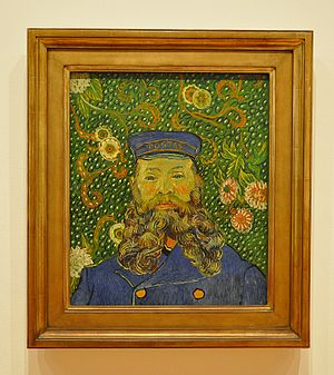 William A. M. Burden - Portrait of Joseph Roulin by Vincent van Gogh, donated to MoMa by Burden