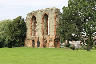 Henry Berkeley, 7th Baron Berkeley - Remains of Caludon Castle, once the home of Henry Berkeley, 7th Baron Berkeley
