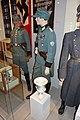WW2 Norway. Polizeioberwachtmeister der Schutzpolizei; Hauptmann der SP; Norw. police major (politikommandør) 1942; Vase Ordnungspolizei emblem etc Justismuseet Trondheim 2019 (flash) 3148.jpg