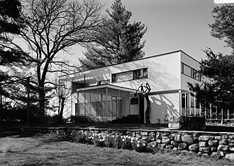 Walter Gropius - Gropius House (1938) in Lincoln, Massachusetts