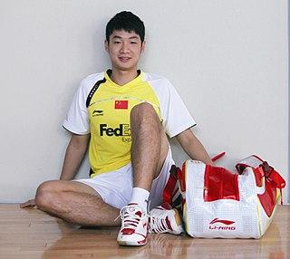 Wang Zhengming Badminton player