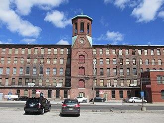 Wanskuck, Providence, Rhode Island - Wanskuck Mills