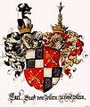Wappen Carl von Zollern zu Hohenzollern aus einem unbekanntem Wappenbuch.jpg