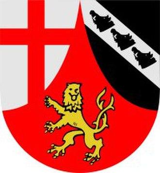 Kirchen - Image: Wappen kirchen sieg
