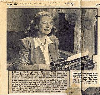 Mary Jane Ward American writer