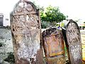 Warrior and sati memorial stones, nirona, kaach.jpg
