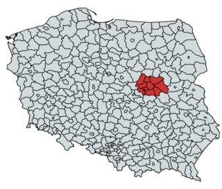 Warsaw metropolitan area Place in Poland